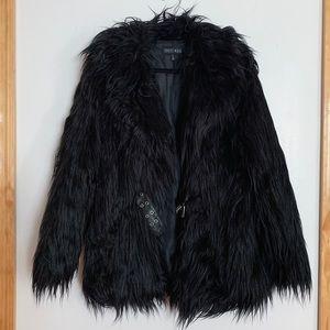 DOLLS KILL Recipe For Disaster Faux Fur Coat